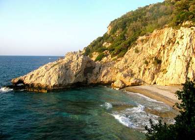 beaches of Samos